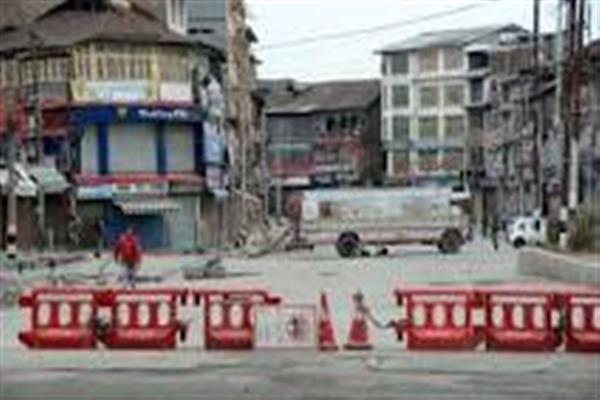 Restrictions on public movement, non-essential activities to continue in Srinagar